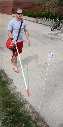 Students Develop Cane With E Tags To Guide Blind