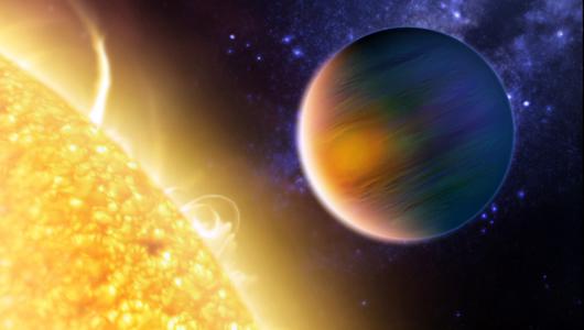 El núcleo del planeta es helado, mientras los gases externos son calientes