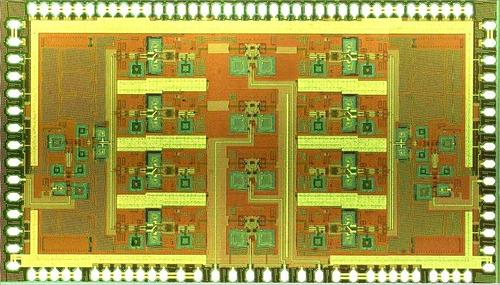 Two-Antenna Quad-Beam 11-15 GHz Phased Array RFIC Targeted at