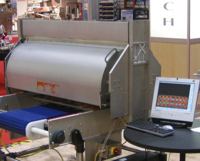 Imaging System Controls Baking Process On Production Line