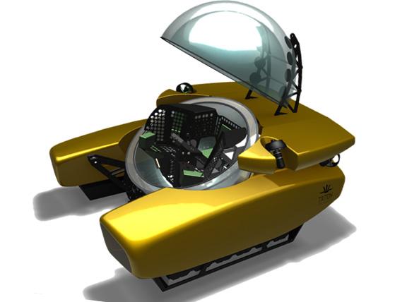 Fiber One News >> New Triton submarine in race to reach ocean bottom