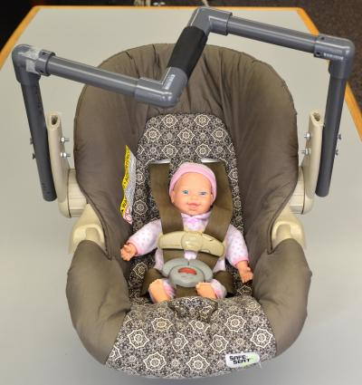Researchers design new handle to make lifting infant car seats safer ...