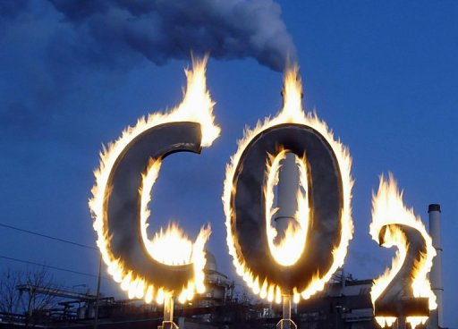 fossil fuel emissions unbraked by financial crisis