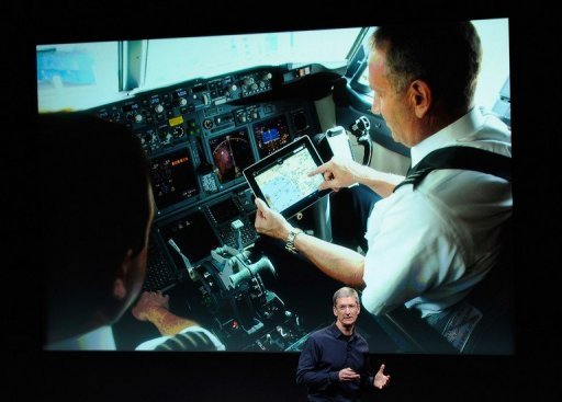 Pilots Cleared To Use Ipad During Takeoff Landing
