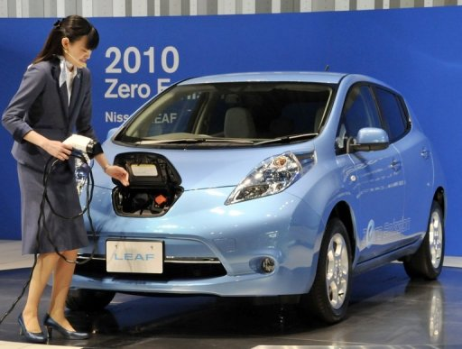 Japan Vending Machines To Charge Electric Cars