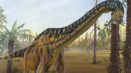 brachiosaurus and other dinosaurs like a vacuum cleaner