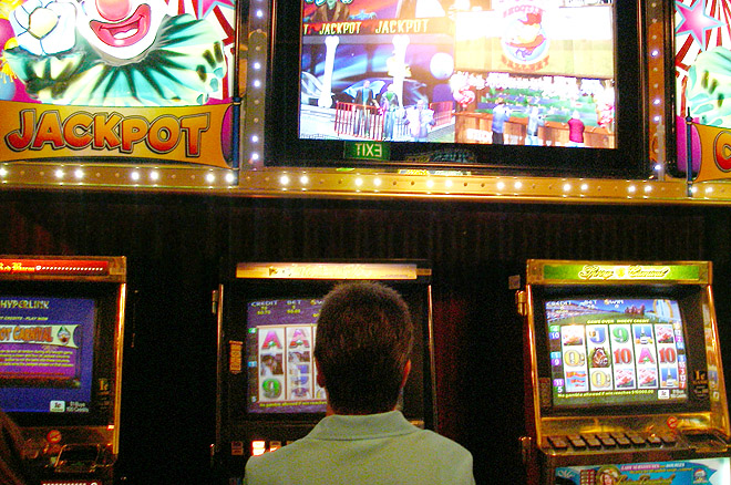 a discussion on banning poker machines