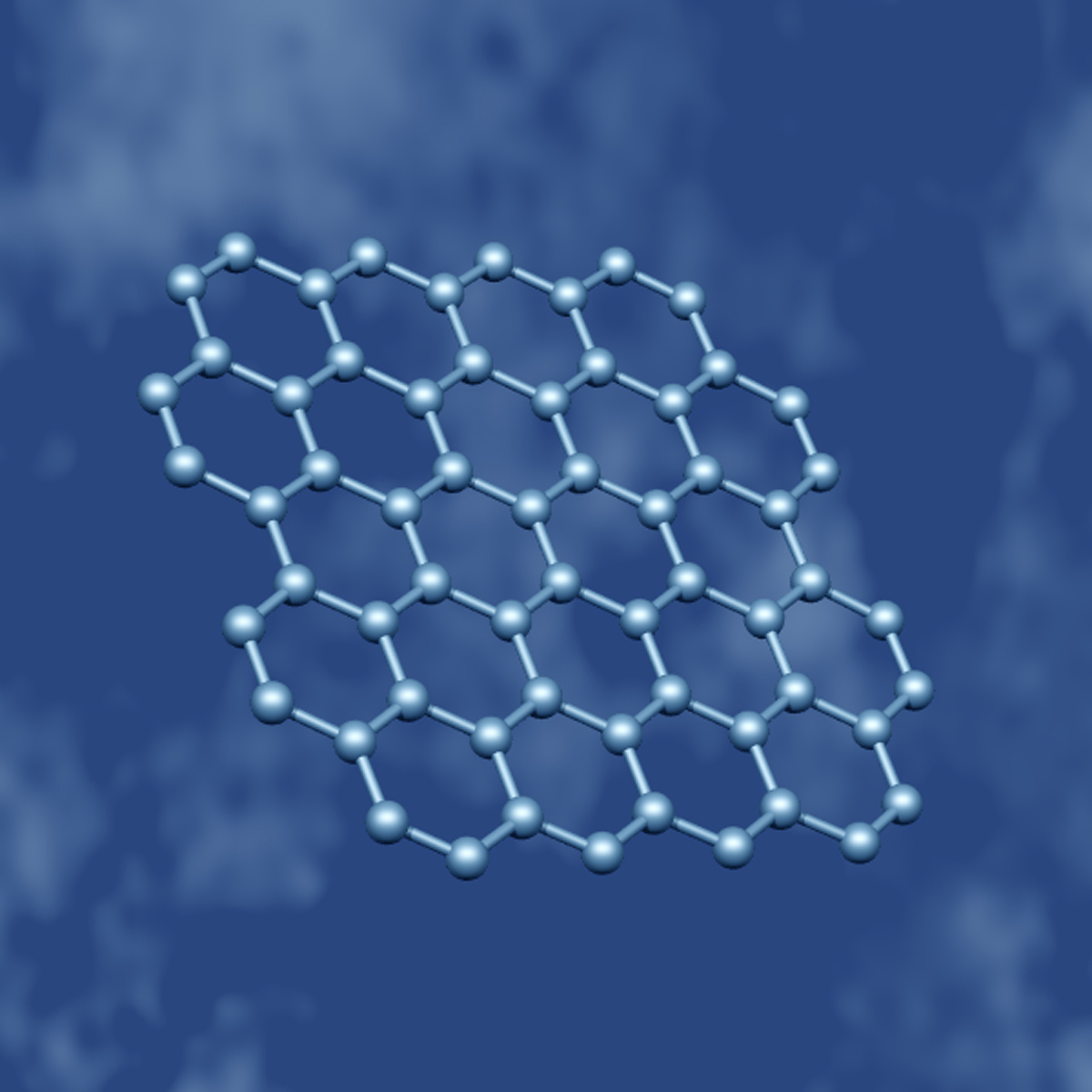Artistic Impression Of Graphene Molecules Credit University Manchester