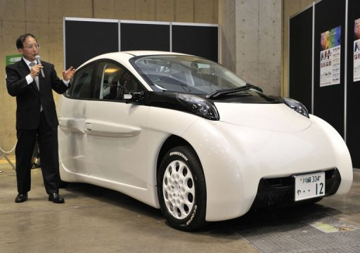 Japanese Electric Car Goes On Single Charge
