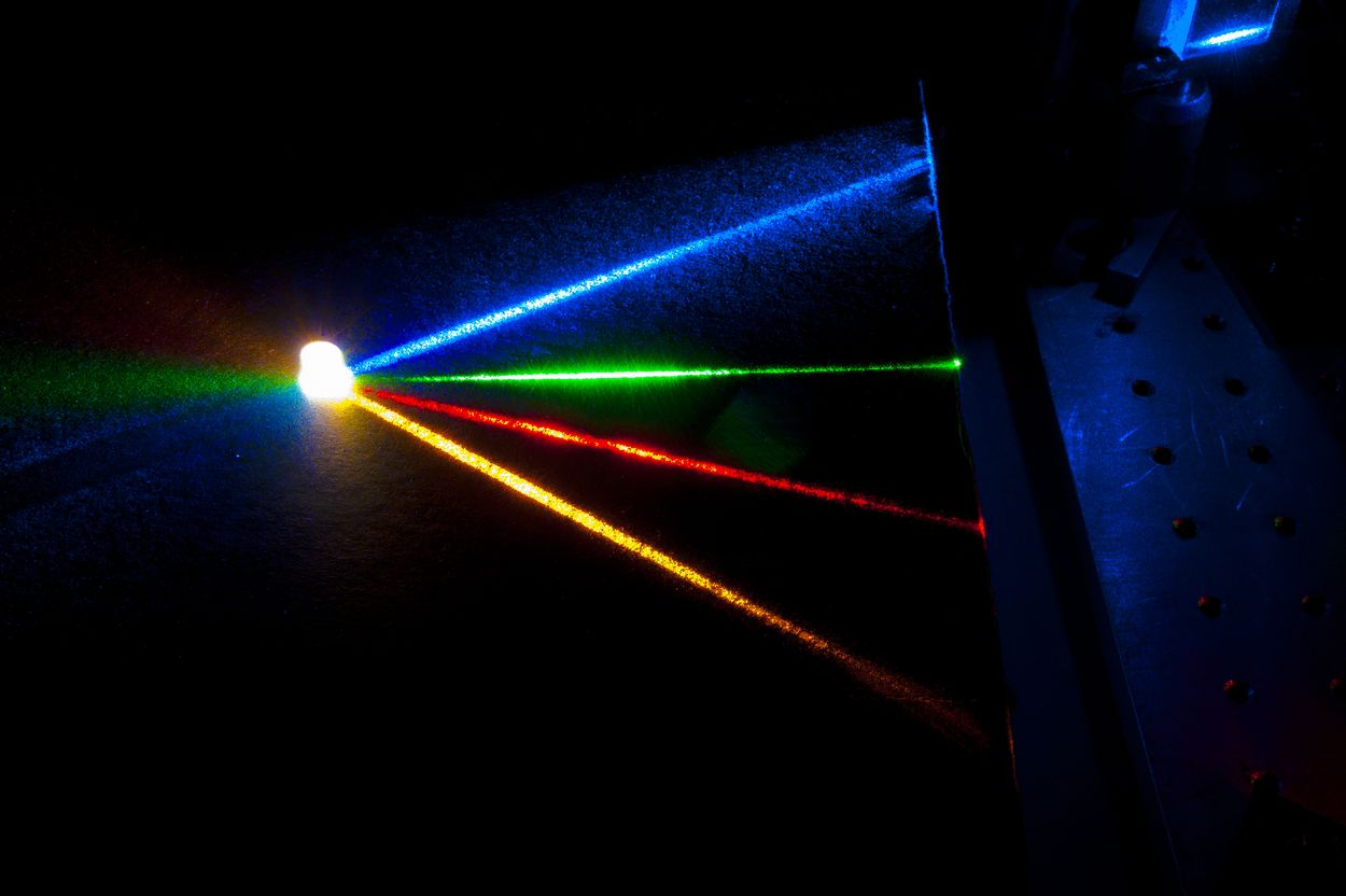 High-quality white light produced by four-color laser source & quality white light produced by four-color laser source azcodes.com