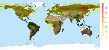 Acid Rain World Map.New Satellite Observations Reveal Link Between Forests And Acid Rain
