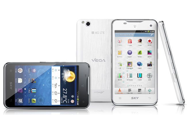 Pantech Vega LTE smartphone works by wave of the hand (w ...