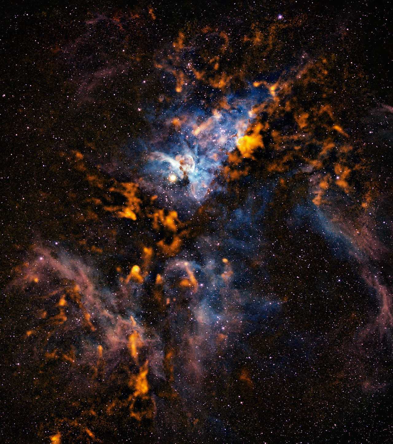 The cool clouds of Carina