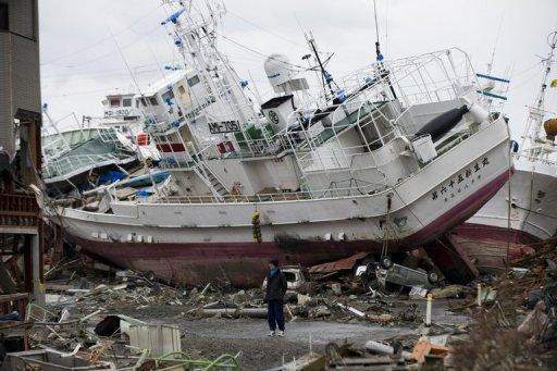 Tsunami debris found 3 000 km from japan coast for Japanese fishing boat