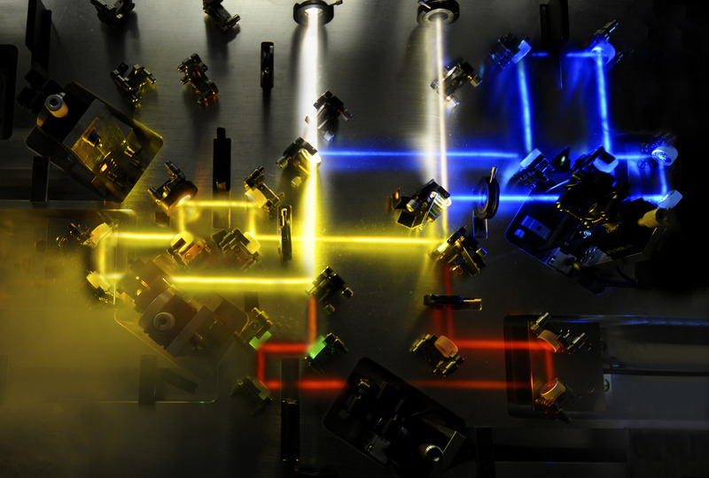White Laser Pulses With Precisely Tailored Waveform Enable Control Of  Electrons In Microcosm