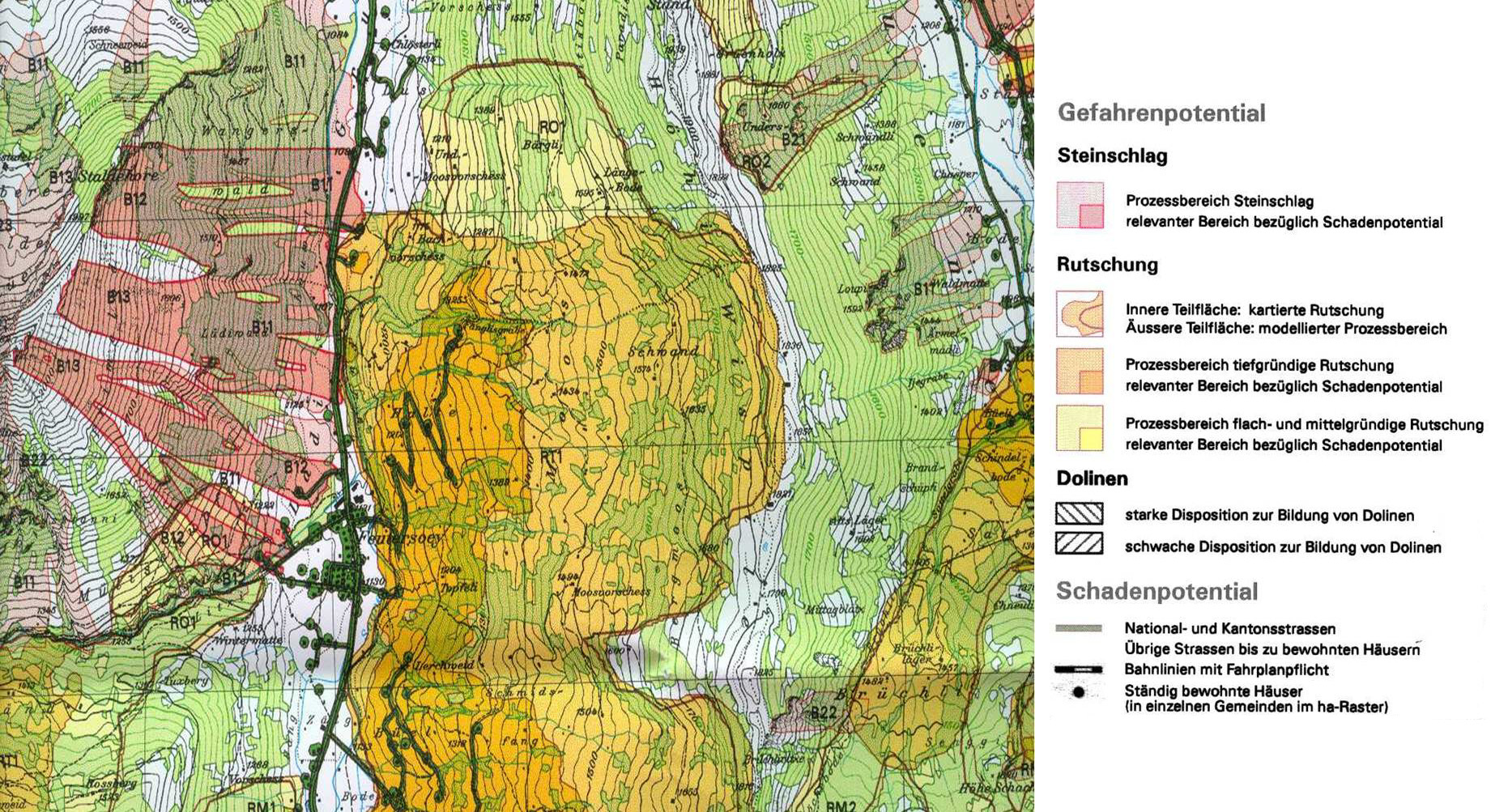 Landslide Mapping In The Swiss Alps