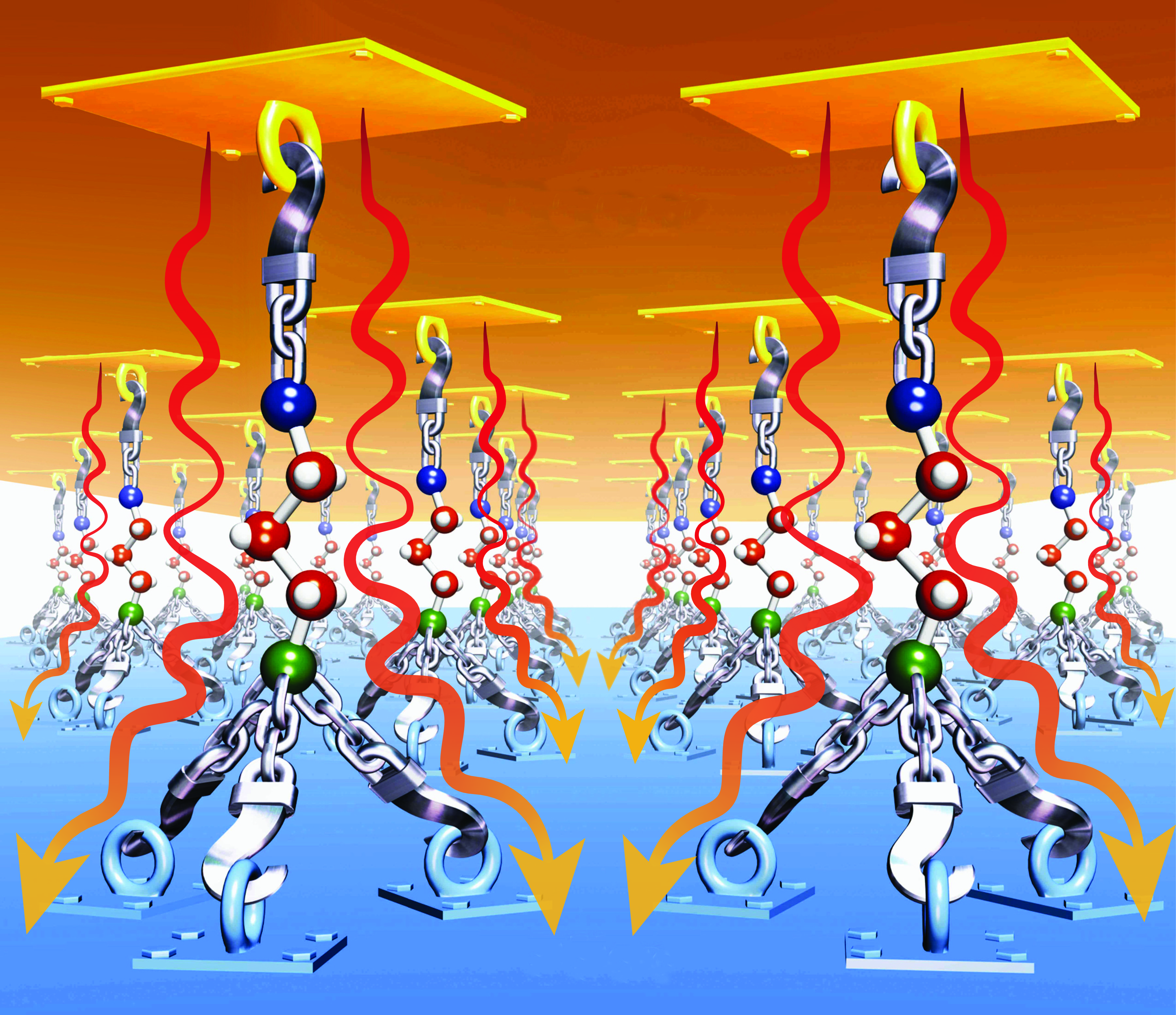 Boosting Heat Transfer With Nanoglue