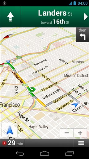 A Mapping Contender Emerges In MapQuest - Mapquest free us maps by google