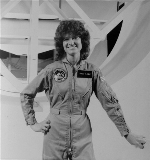Sally Ride, first US woman in space, dies at 61 (Update)