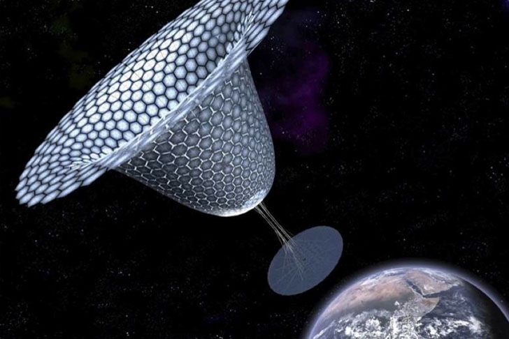 proposed to send solar power to Earth