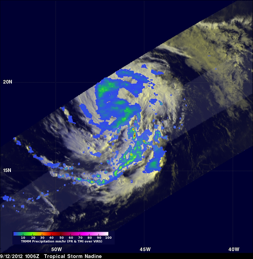 NASA Global Hawk and satellites attend Tropical Storm ...