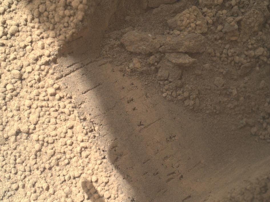 curiosity rover scoop - photo #13