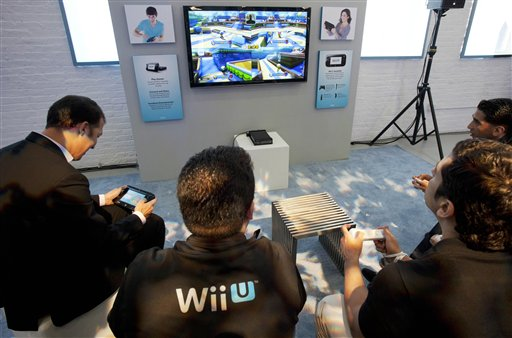 how to set up a wii u to a tv