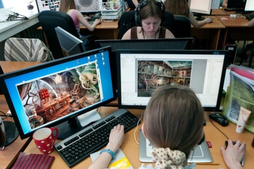 Russians design blockbuster video games in siberia woods - Online design jobs work from home ...