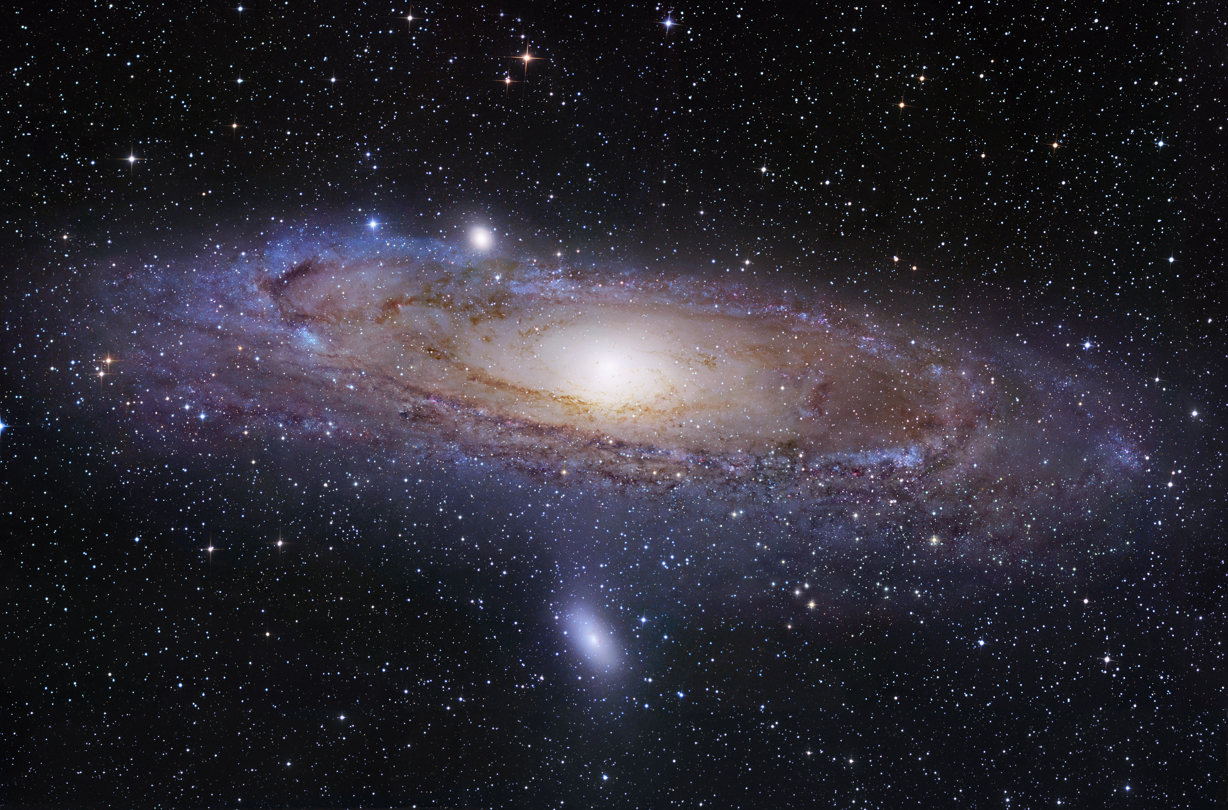 Image result for Andromeda may have eaten the Milky Way's long-lost sibling