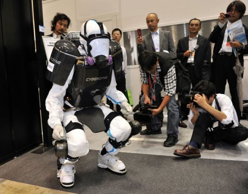 Japan Robot Suit Offers Hope For Nuclear Work