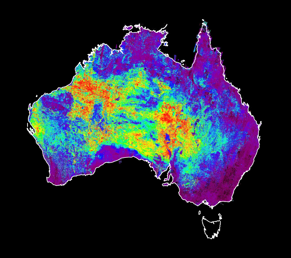 Australia Creates Worlds First Continentalscale Mineral Maps - Australia continental map
