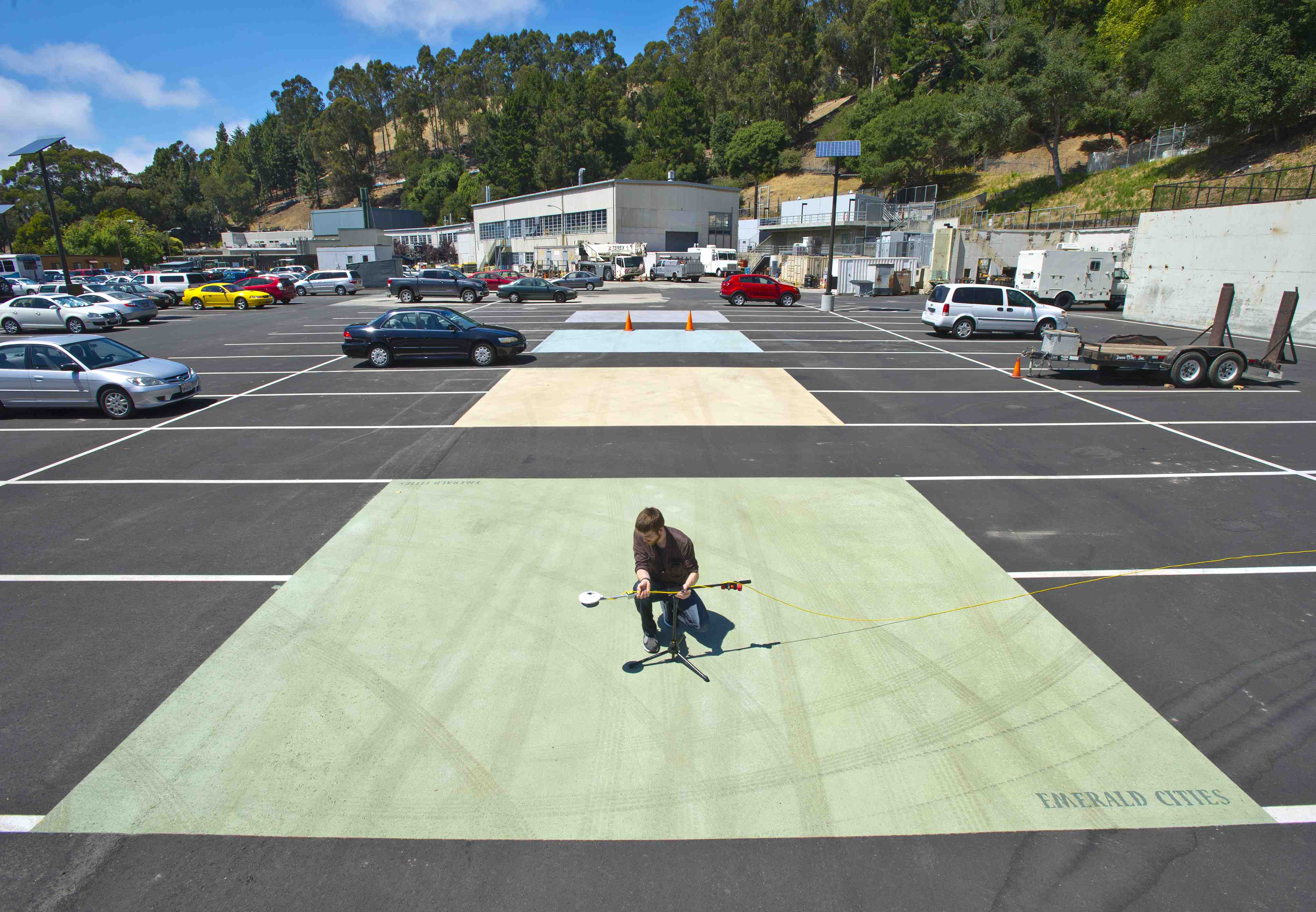 Cool Pavement Technologies Studied To Address Hot Urban