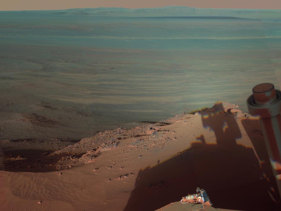 mars rover getting dark - photo #40