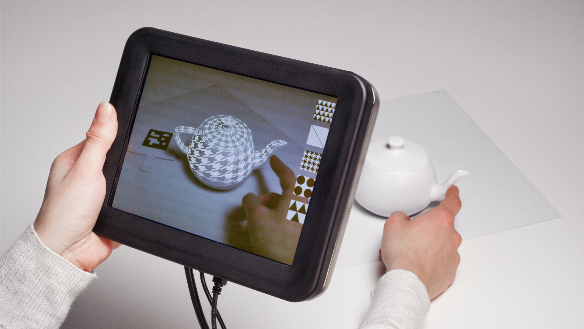 Disney Researchers Add Sense Of Touch To Augmented Reality Screen Technology Working Applications W Video