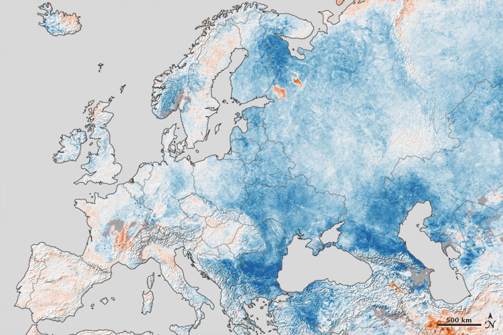 Europe Hammered By Winter Is North America Next
