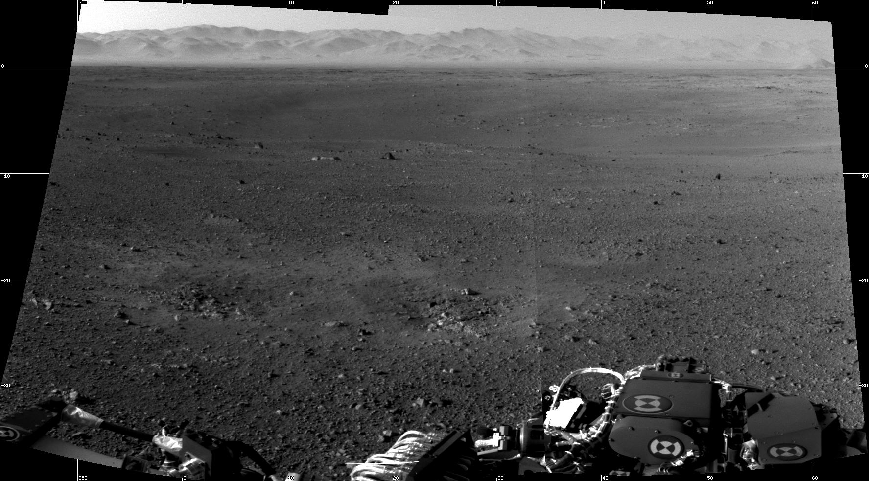 mars rover first photo - photo #22