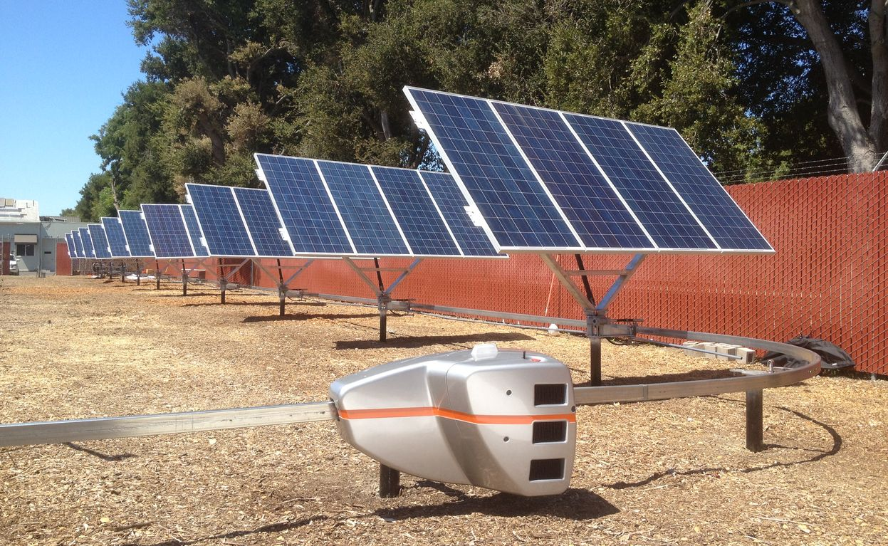 New Startup Uses Robot To Reposition Solar Panels W Video