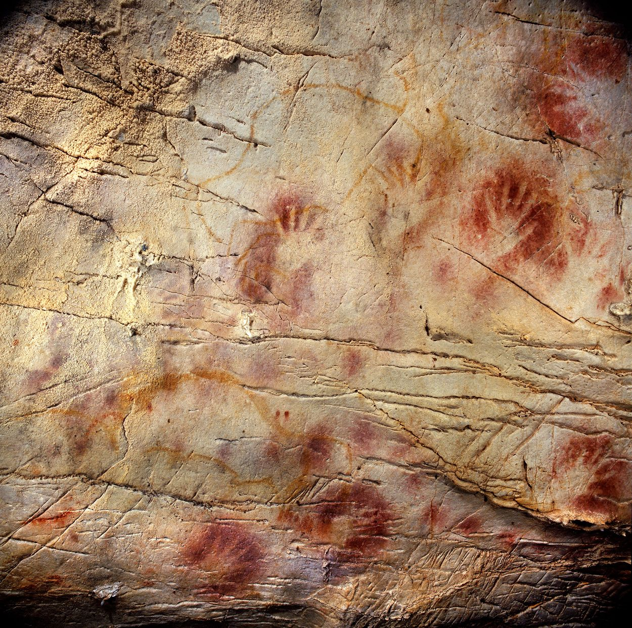 u-series dating of paleolithic art in 11 caves in spain
