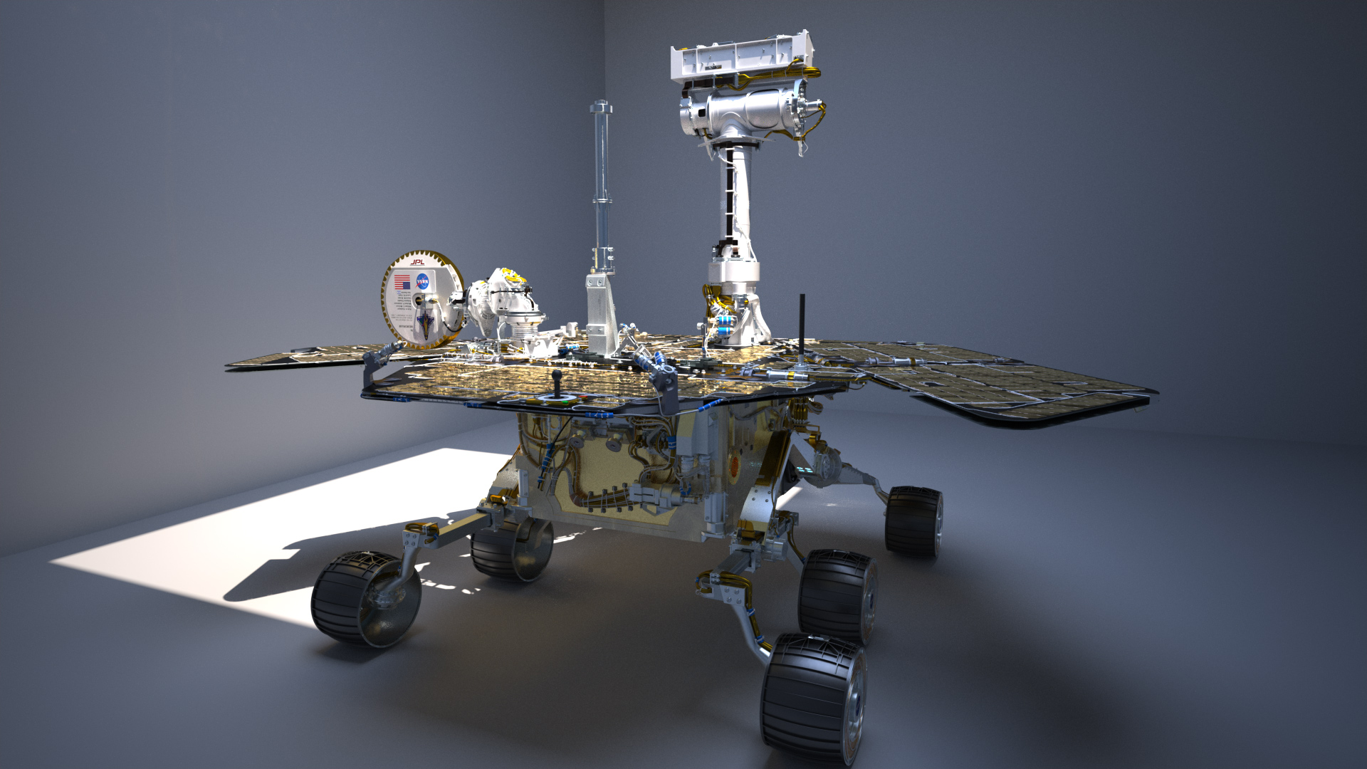 Incredible digital re-creations of the Mars rovers