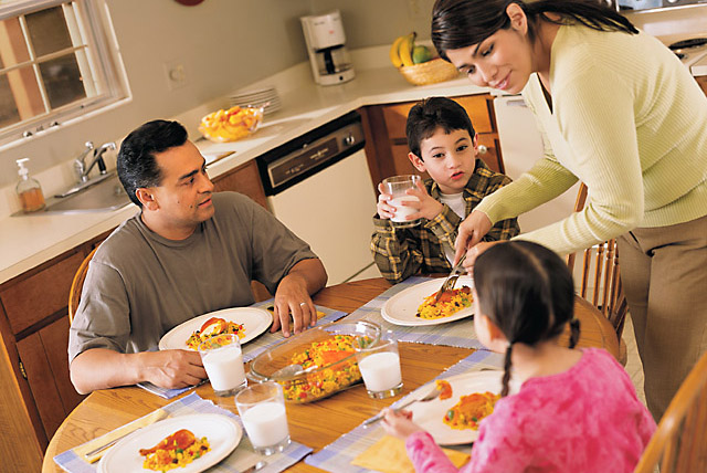 Parents influence children's eating habits