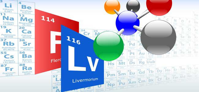 Livermorium and flerovium join the periodic table of elements urtaz Gallery