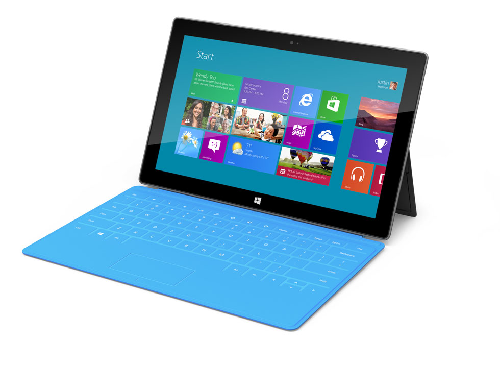 review microsoft s surface tablet no ipad but better than other rivals