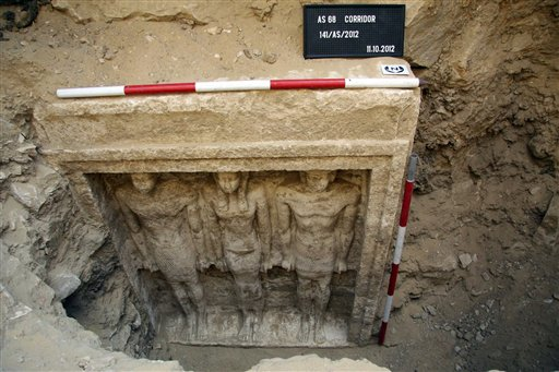 Pharaonic princess's tomb found near Cairo, Egypt (Update)