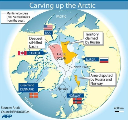 Russia vows to open up Arctic to energy firms