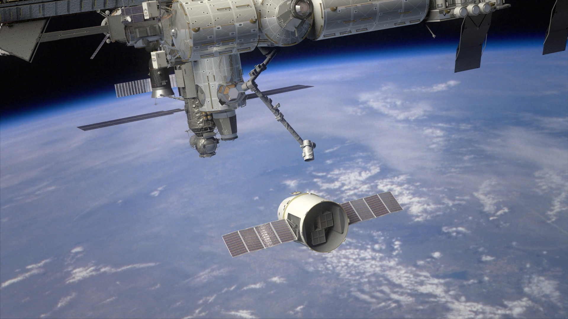 spacex dragon docking - photo #5