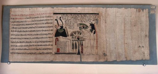 rare egyptian scrolls found in australian collection