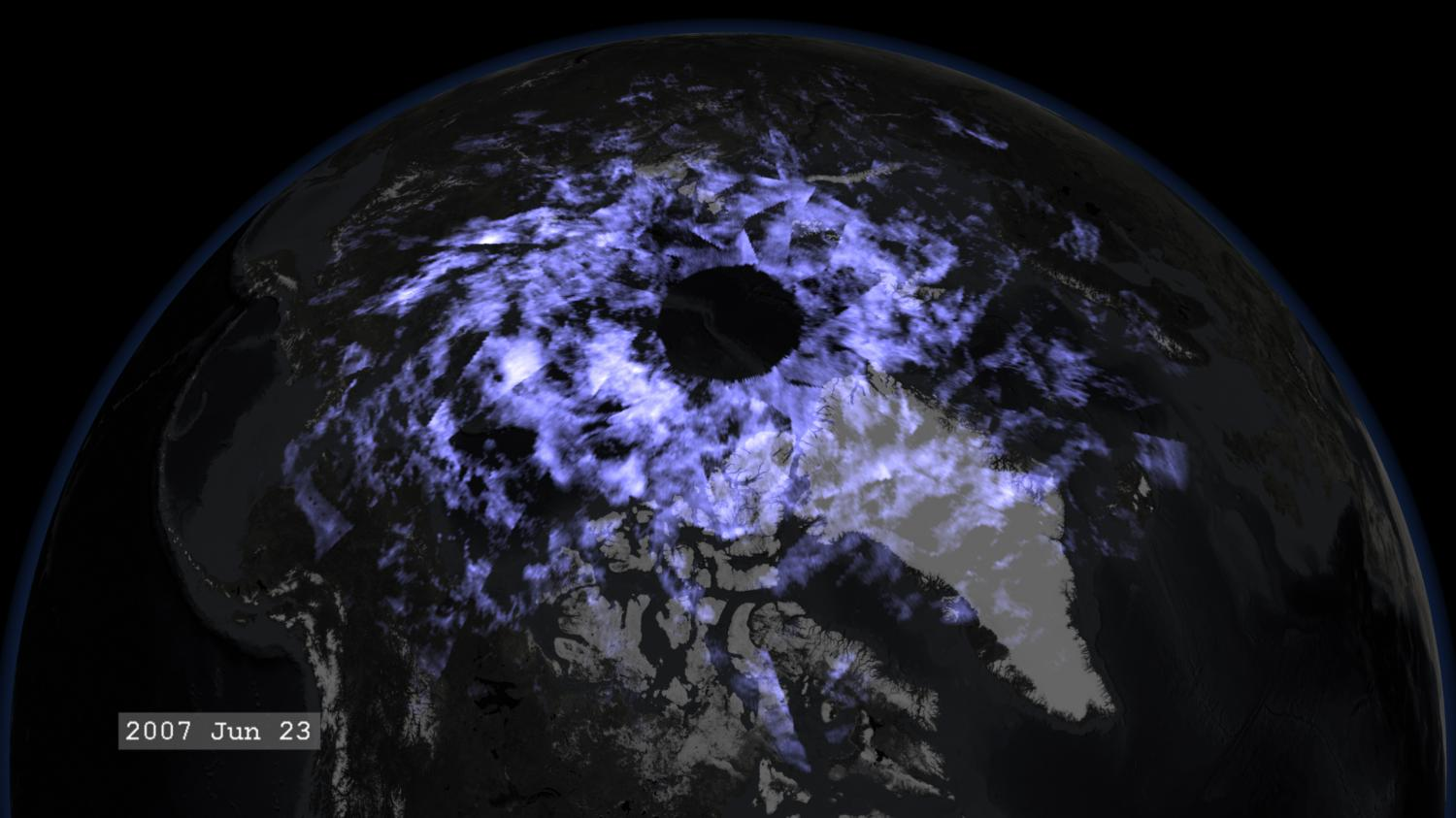 Researchers observe bright Arctic clouds formed by exhaust ...