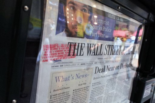 US newspapers gain online, but print lags