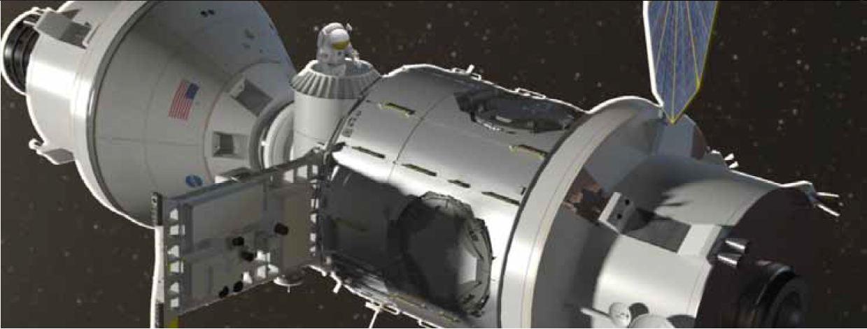 astronaut space habitat - photo #12