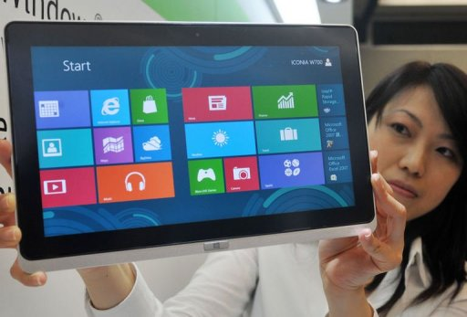 Taiwan S Acer Asus Unveil Tablets With Windows 8 Update